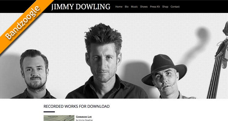 Jimmy Dowling Website