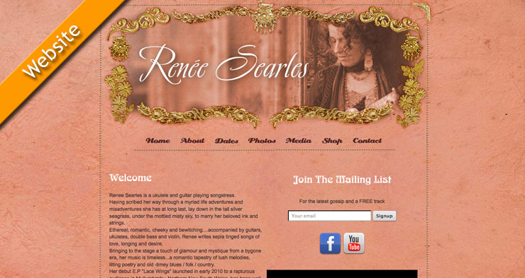 Renee Searles Website
