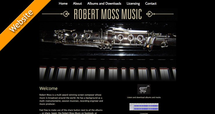 Robert Moss Website