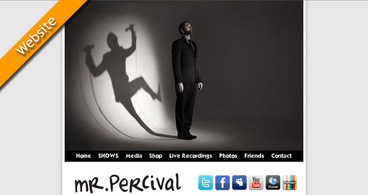 Mr.Percival Website