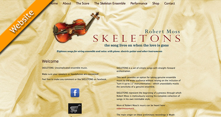 Skeletons Website